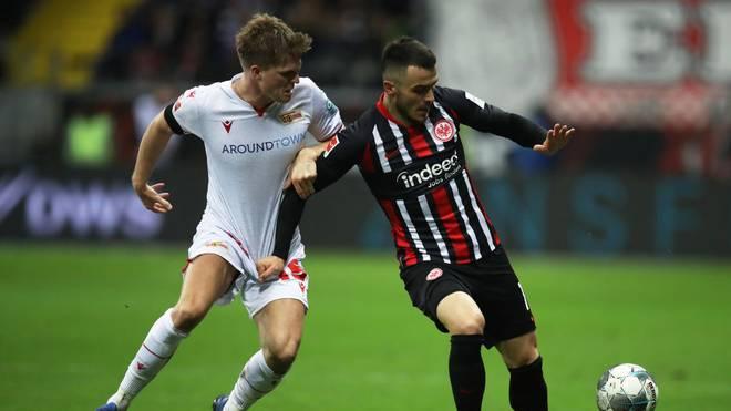Filip Kostic spielt mit Eintracht Frankfurt beim FC Salzburg