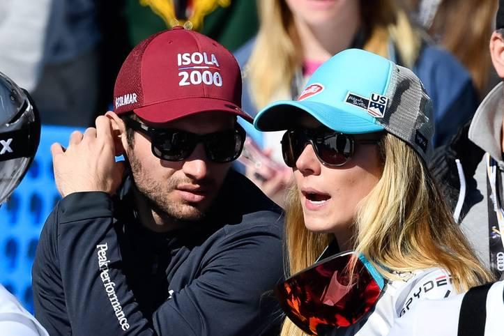 Schluss, Aus und vorbei! Ski-Königin Mikaela Shiffrin (r.) und Riesenslalom-Spezialist Mathieu Faivre haben sich nach zwei Jahren getrennt