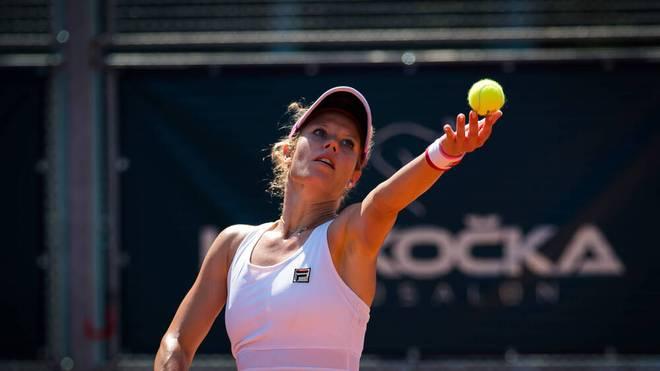 Laura Siegemund vertritt die deutschen Farben im Damendoppel-Finale der US Open in New York