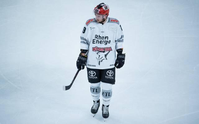 Jason Akeson will mit den Kölner Haien endlich wieder punkten