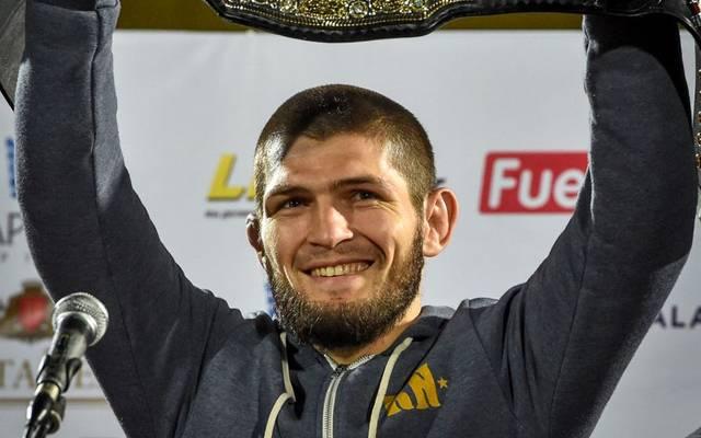 Khabib Nurmagomedov ist nach dem Sieg gegen Dustin Poirier UFC-Champion im Leichtgewicht