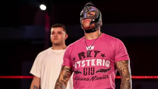 Rey Mysterio war zuletzt bei WWE RAW wieder mit von der Partie