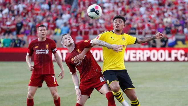 In der Premier League heiß begehrt: Jadon Sancho