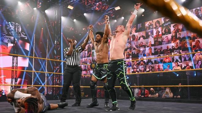 Erfolgreiches Tag Team feiert erfolgreiches WWE Debut