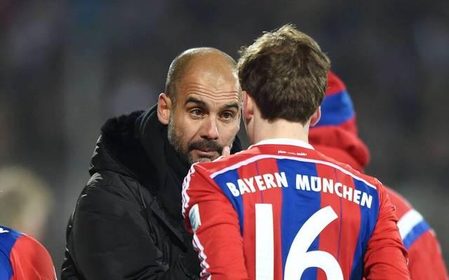 Mentor: Pep Guardiola war beim FC Bayern von den Qualitäten von Gianluca Gaudino überzeugt