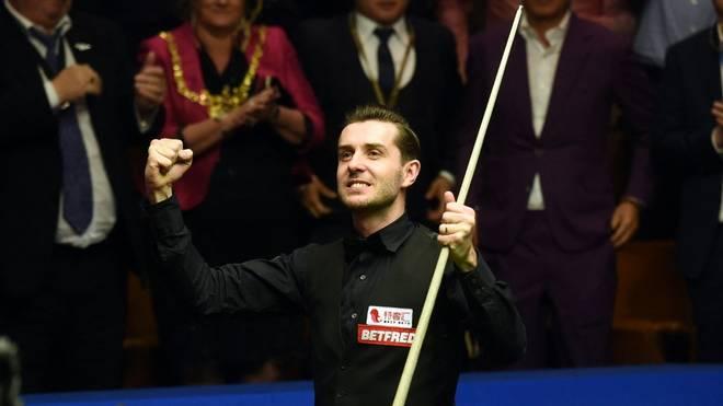 Mark Selby steht im Halbfinale der Snooker-WM
