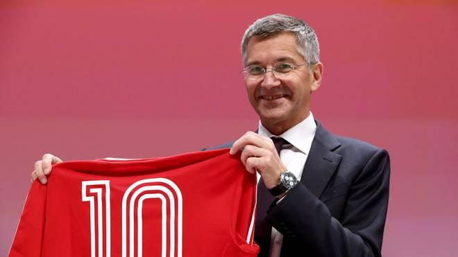 Bayern-Präsident Herbert Hainer will bis 2022 den CL-Titel nach München holen