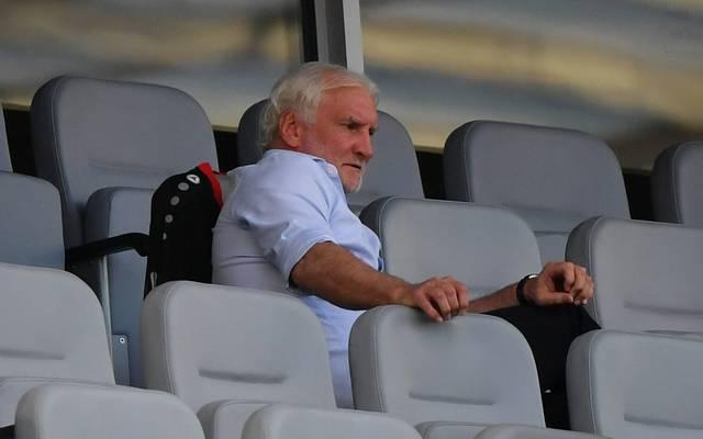 Rudi Völler ist nach dem EL-Aus von Bayer Leverkusen enttäuscht