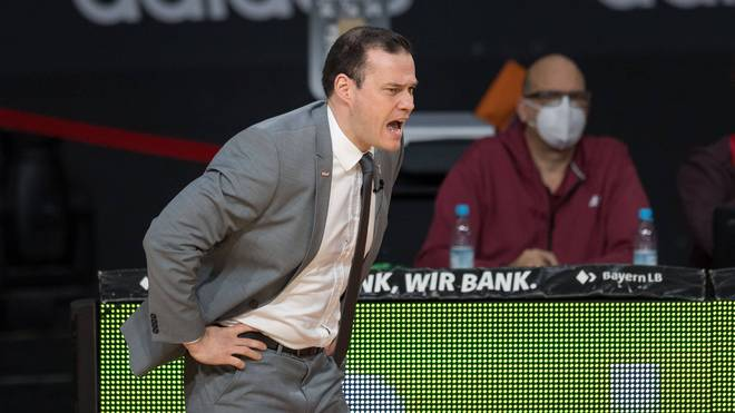 Johan Roijakkers ist Trainer der Brose Baskets Bamberg