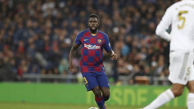 Samuel Umtiti steht nicht im Champions-League-Kader des FC Barcelona