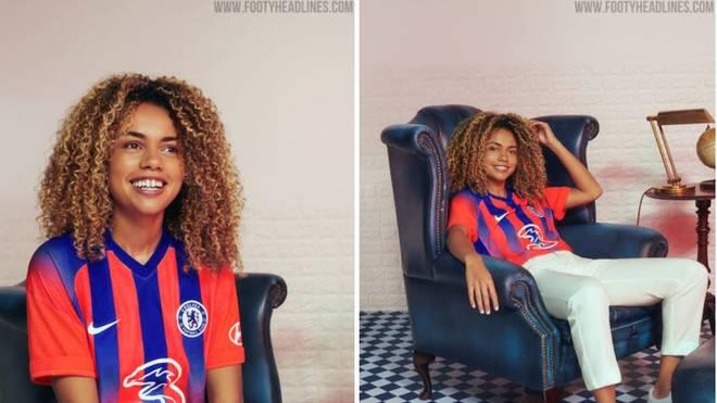 Das Ausweichtrikot des FC Chelsea ähnelt sehr dem Heimtrikot von Crystal Palace