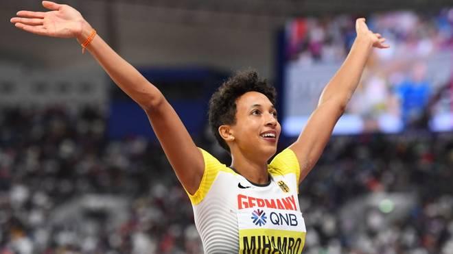 Weitspringerin Malaika Mihambo wird 2019 Weltmeisterin