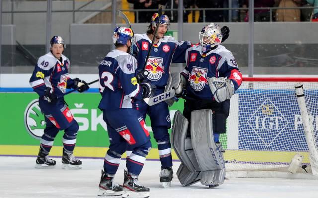 Der EHC Red Bull München surft weiter auf der Erfolgswelle