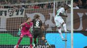 HAMBURG, GERMANY - AUGUST 02:  Daniel Keita-Ruel (R) of SpVgg Greuther Fuerth scores his second goal during the Second Bundesliga match between FC St. Pauli and SpVgg Greuther Fürth at Millerntor Stadium on August 02, 2019 in Hamburg, Germany. (Photo by Cathrin Mueller/Bongarts/Getty Images)