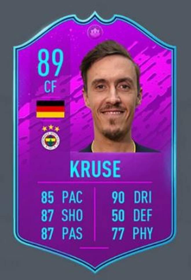 Max Kruse kann jetzt über diverse Ligen-SBCs erspielt werden.