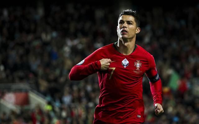 Der Portugiese Cristiano Ronaldo spielt seit 2018 bei Juventus Turin
