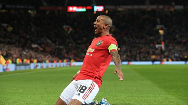 Ashley Young wechselt von Manchester United zu Inter Mailand