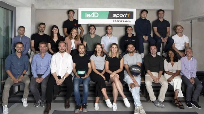 Die Gewinner des leAD SPORT1 Accelerator Programms 2019