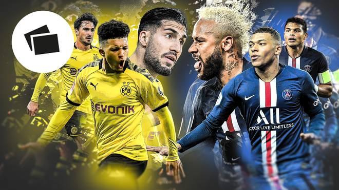 Im Spiel zwischen Dortmund und Paris dürften die herausragenden Könner in den jeweiligen Offensivreihen entscheidend sein