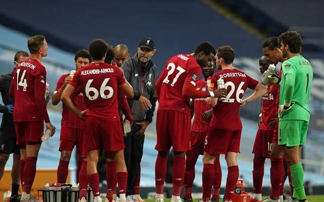 Dem FC Liverpool gehen die Trikots aus