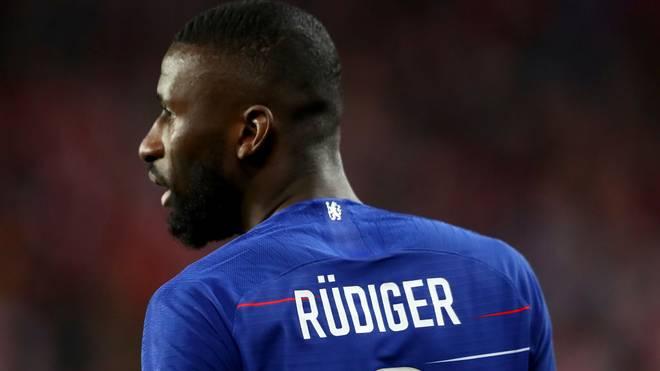Antonio Rüdiger winkt das baldige Comeback