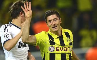 Damit schießt sich Lewandowski mit nun insgesamt zehn Treffern direkt hinter Real-Star Cristiano Ronaldo auf Rang zwei der Torjägerliste (12). SPORT1 zeigt die weiteren Goalgetter der Königsklasse