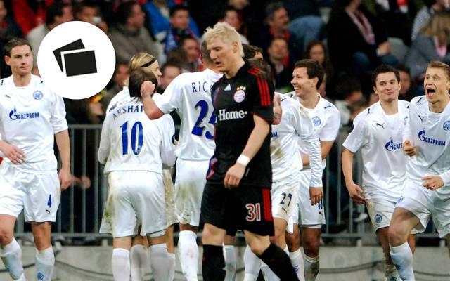 Bastian Schweinsteiger ging 2008 mit dem FC Bayern bei Zenit St. Petersburg unter