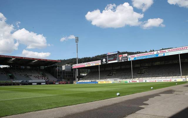 Der SC Freiburg darf vorerst vor 500 Zuschauern spielen