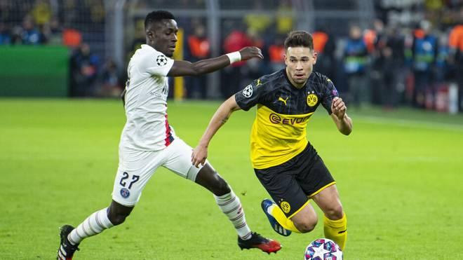 Raphaël Guerreiro (Borussia Dortmund) stand 2019 dicht vor einem Transfer zu  Paris Saint-Germain, wie er nun berichtet
