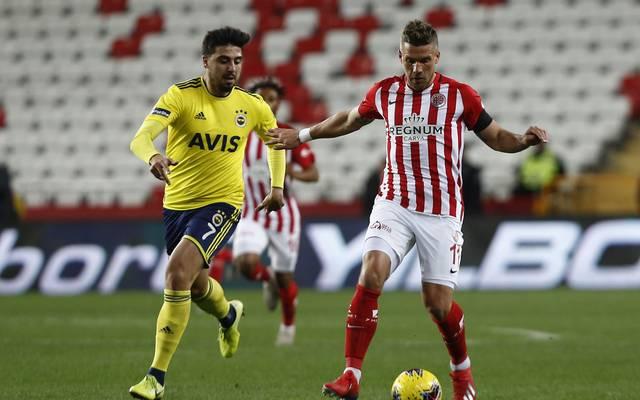 Lukas Podolski spielt seit dieser Saison für Antalyaspor