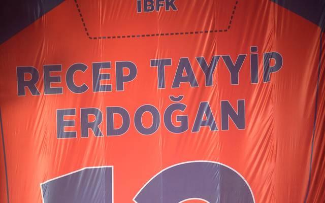 Recep Tayyip Erdogan ist großer Fan des türkischen Meisters Basaksehir Istanbul