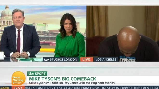 """Ein Interview von Mike Tyson mit """"Good Morning Britain"""" sorgt für Wirbel"""