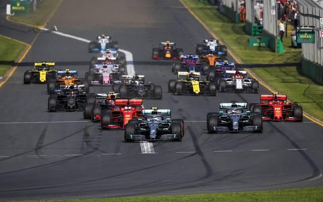 Der Saisonstart der Formel 1 in Australien ist in Gefahr