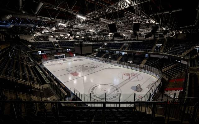 In der Arena in Nürnberg finden in der nächsten Zeit keine DEL-Spiele statt