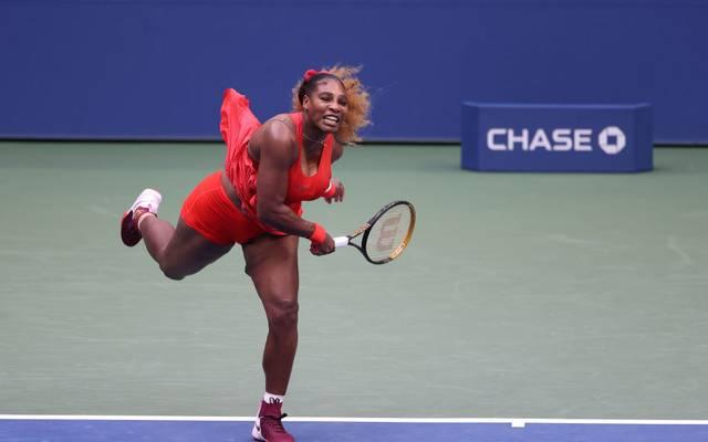 Serena Williams will bei den US Open in die dritte Runde einziehen