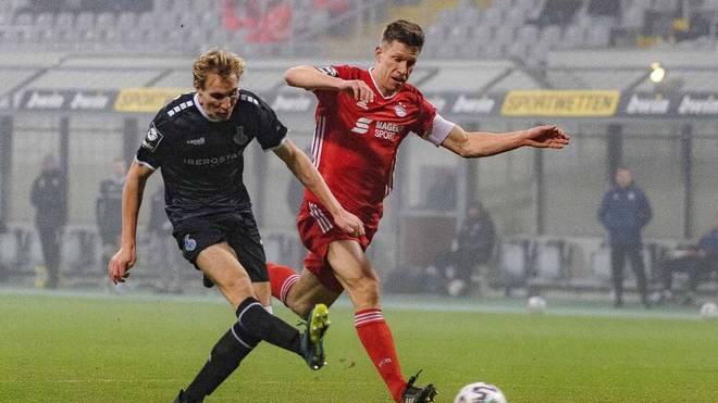 Vincent Vermeij erzielte den Ausgleich für den MSV Duisburg gegen den FC Bayern II