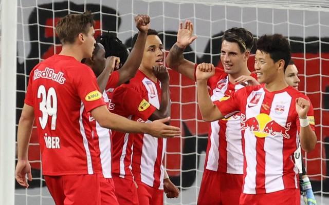RB Salzburg gewann das österreichische Pokalfinale gegen Lustenau