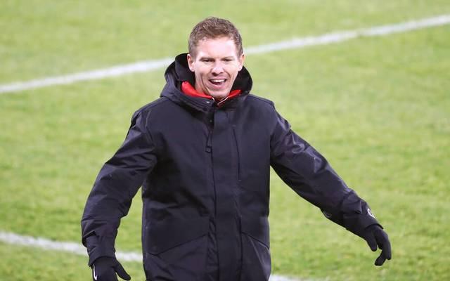 Julian Nagelsmann strebt den nächsten Sieg mit RB Leipzig an