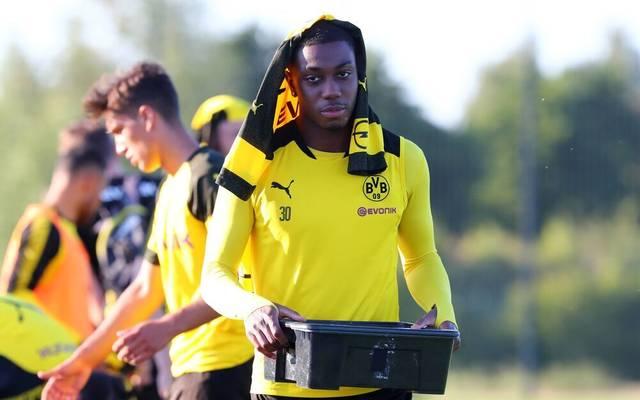 Denzeil Boadu spielte zwischen 2017 und 2019 für den BVB II