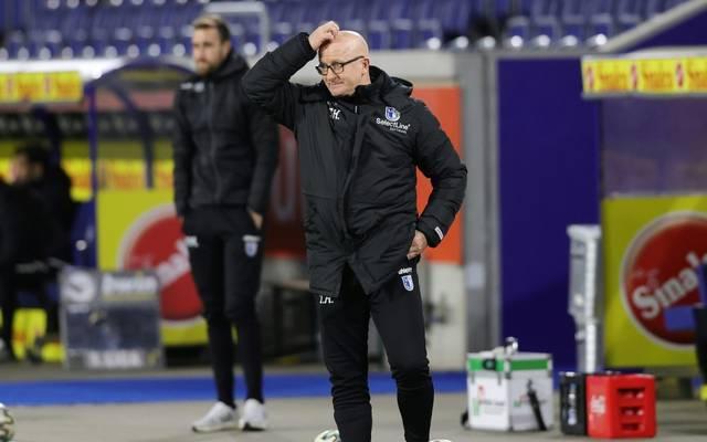 Magdeburg-Trainer Hoßmang tritt zurück