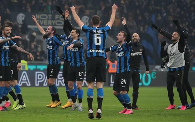 Inter Mailand ist seit dem Wochenende Tabellenführer der Serie A