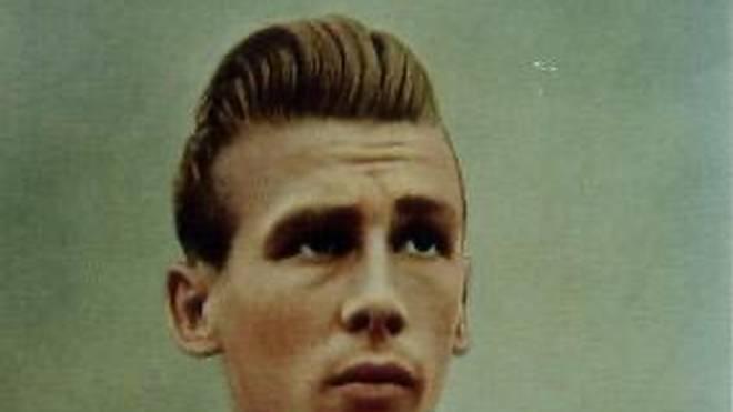 Eine Frisur wie heute Marco Reus: Der junge Horst Eckel im Alter von 22 Jahren