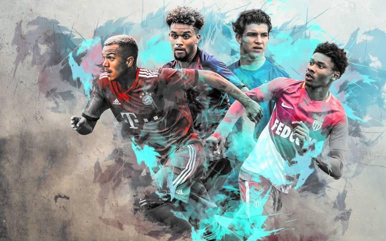 """Wie heißen die Stars der Zukunft? Der englische """"Guardian"""" hat eine Liste der 60 größten Talente des Jahrgangs 2001 veröffentlicht. SPORT1 stellt die besten Youngster daraus vor"""