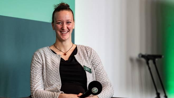 Almuth Schult ist Torhüterin der Nationalmannschaft und Mutter von Zwillingen
