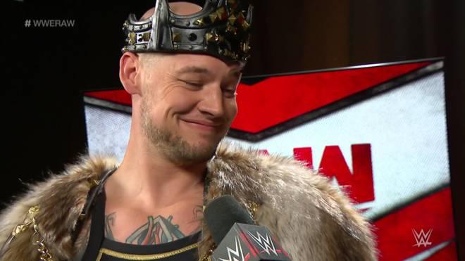 King Corbin tritt kommende Woche bei Monday Night RAW an
