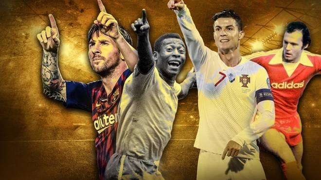 Messi? Pelé? Ronaldo? Beckenbauer? Wer ist der beste Fußballer aller Zeiten?