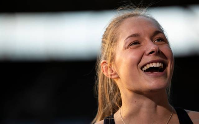 Gina Lückenkemper steht im Halbfinale über 100 Meter