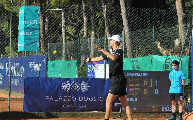 Yannick Hanfmann spielte sich auf Sardinien bis ins Viertelfinale