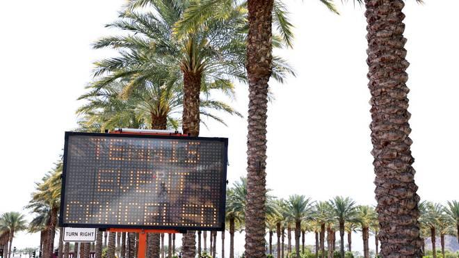 Das Tennis-Turnier in Indian Wells konnte aufgrund der Coronakrise nicht stattfinden