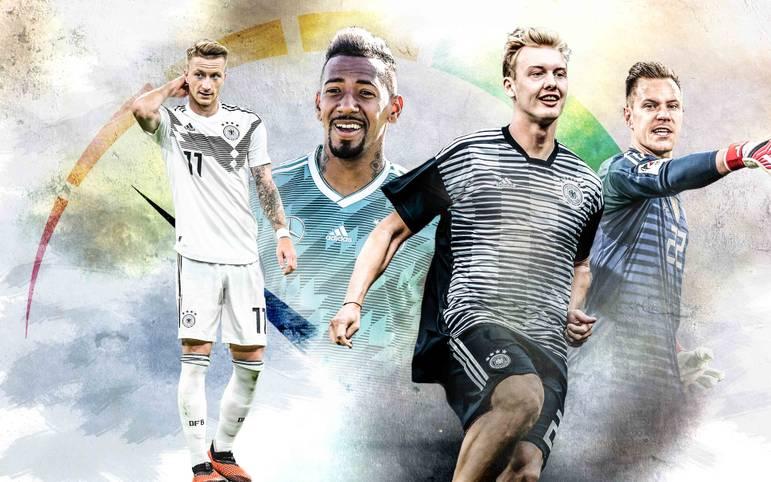 Wer konnte nach dem WM-Debakel bislang überzeugen, wer hat noch Steigerungsbedarf? Das DFB-Formbarometer von SPORT1 verrät es
